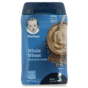 bột gerber whole wheat